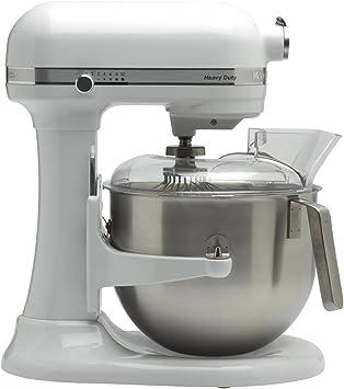 KitchenAid 5KSM7591X - Robot de cocina (Acero inoxidable, Color blanco, 50/60 Hz, Metal): Amazon.es: Hogar