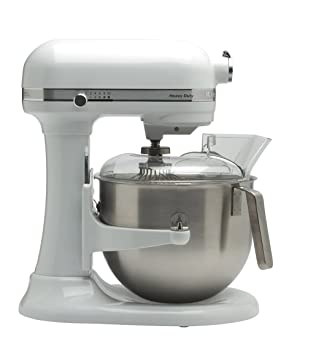 KitchenAid 5KSM7591X - Robot de cocina (Acero inoxidable, Color blanco, 50/60 Hz, Metal): Amazon.es: Hogar