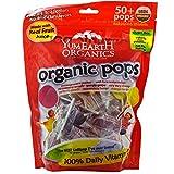 YumEarth, Organic Pops, Assorted Flavors, 50+ Pops, 12.3 oz (349 g) YumEarth, Organic Pops, Assorted Flavors, 50+ Pops, 12.3 oz (349 g) - 2pcs