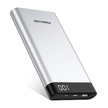 POWERADD Virgo I USB Type C Batería Externa de 10000mAh con Pantalla LED Digital Cargador Portátil Type C de Entrada y Salida (Cable USB Tipo C y ...