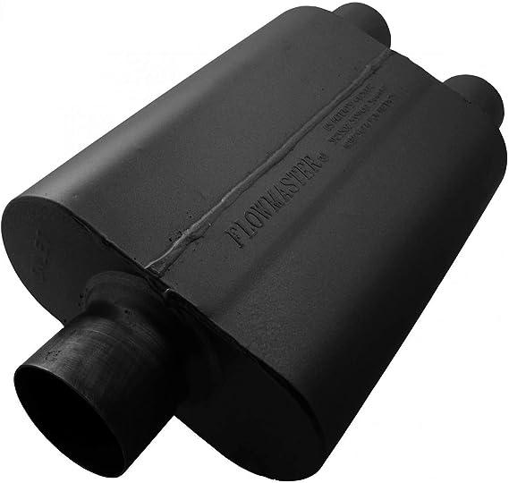 """Flowmaster 430402 Original 40 Series Muffler 3/"""" Center Inlet//2.5/"""" Dual Outlet"""
