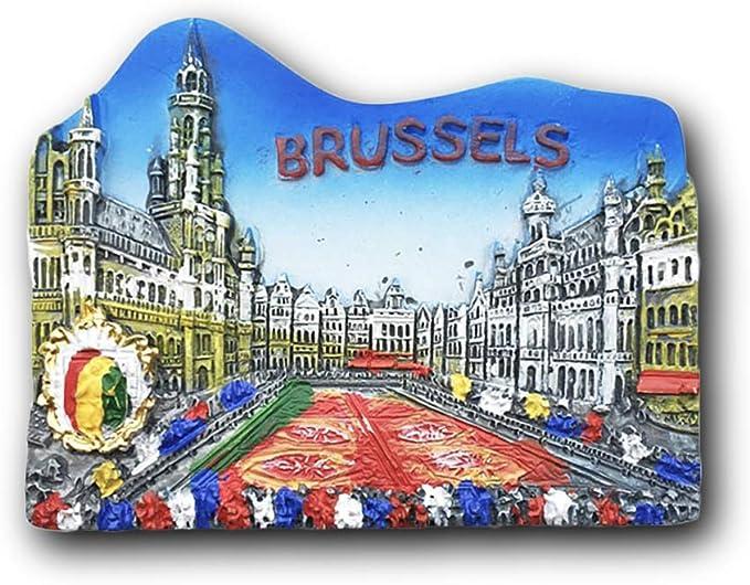 Brussels Manneken Pis Fridge Magnet Natural Stone Art Craft Magnet Souvenir