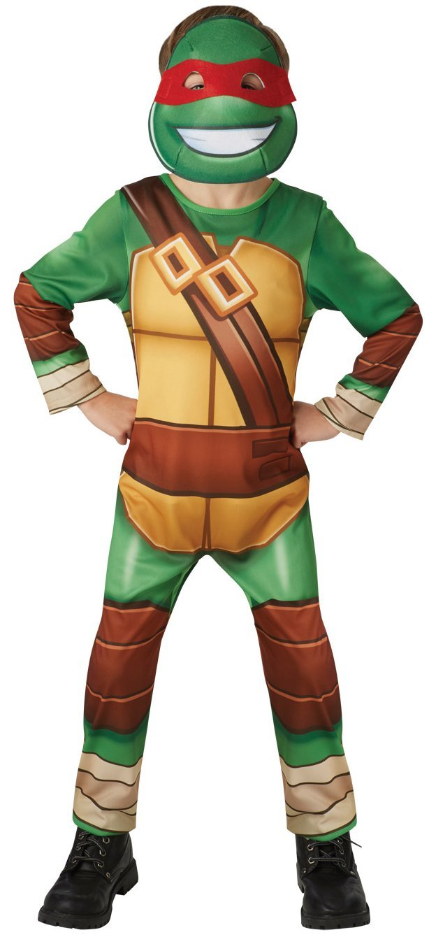 Rubies s Official TMNT Half Shell Hero Teenage Mutant Ninja Turtles, disfraz para niños – tamaño mediano