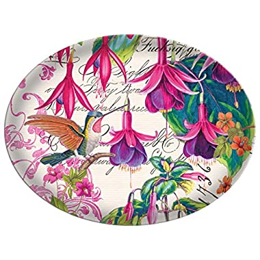 Michel Design Works Glass Soap Dish, Fuchsia