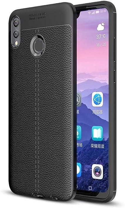 KNOB Funda Huawei Honor 8X MAX,Slim Suave TPU Silicona Funda ...
