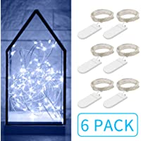 Govee Fairy String Lights 3.3FT Battery Operated Jar Lights Bedroom Patio Wedding Party Christmas