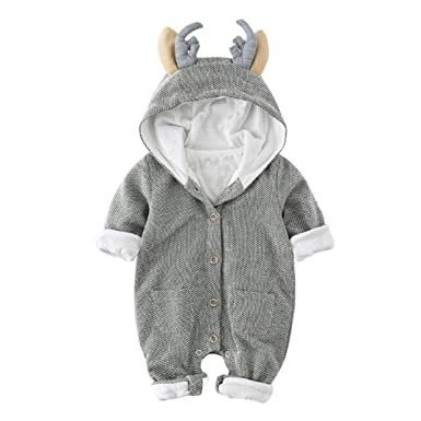 cee6a7eecd60 Amazon.com  SunWard Christmas Newborn Infant Baby Boy Girl Long ...