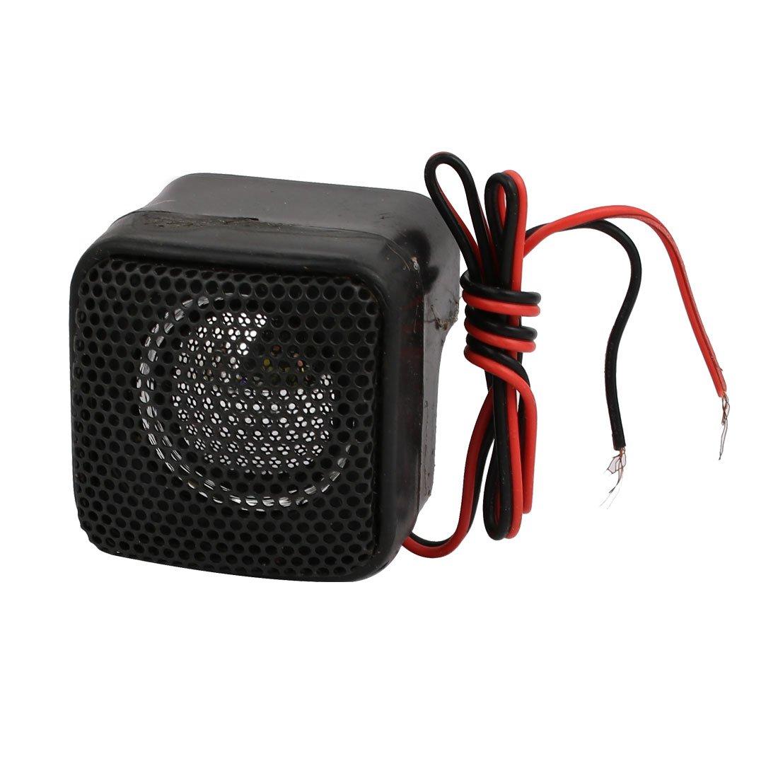 uxcell Plastic Shell Loudspeaker Speaker 45mm x 45mm x 45mm