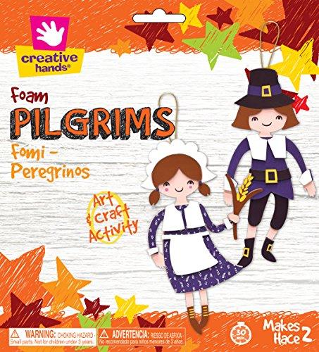 Creative Hands Pilgrims (Preschool Halloween Games Crafts)