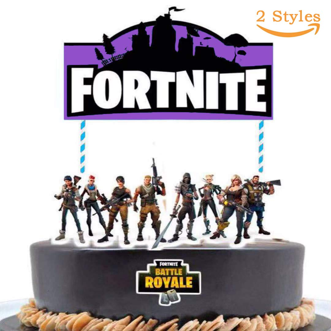 Incredible Video Game Birthday Cake Topper Decoration 2 Styles 7 Inch Funny Birthday Cards Online Inifofree Goldxyz