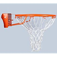 MPRT Dunking Heavy 7 Size Basketball Ring with Net for Ground,Park,Beach