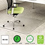 Environmat PET Chair Mat, 46w x 60l, Clear