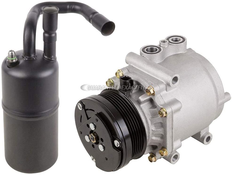 BuyAutoParts 60-86063R2 NEW For Ford Crown Victoria /& Mercury Grand Marquis AC Compressor w//A//C Drier