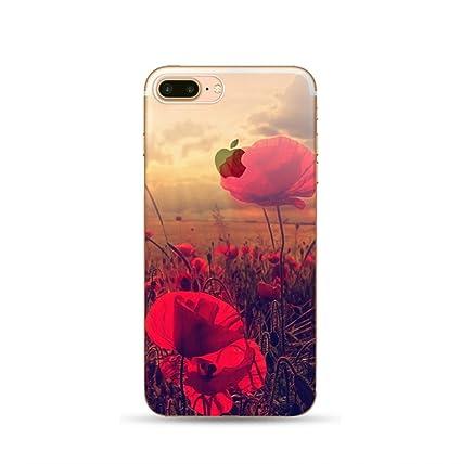 Iphone 7 Coque Transparente Fusicase Un Magnifique Paysage Naturel