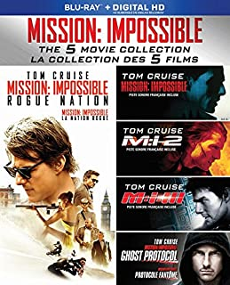 Mission: Impossible 5-Movie Collection [Blu-ray] (Bilingual) (B015YTPQHI) | Amazon Products