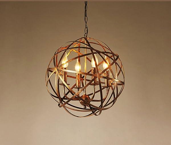 MMM  Amerikanischer Retro  Art Eisen Leuchter, Eisen Lampen Körper