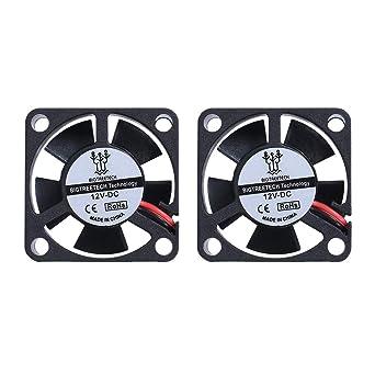 BIQU 3010S 30 mm 30 x 30 x 10 mm 12 V 2Pin DC refrigerador pequeño ...