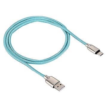 Funda impermeable para smartphone Cable de carga de 1M Woven Style ...