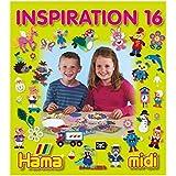 Hama - 399-16 - Loisirs Créatifs - Livre Inspiration n°16 - Perles à Repasser Midi - 68 Pages