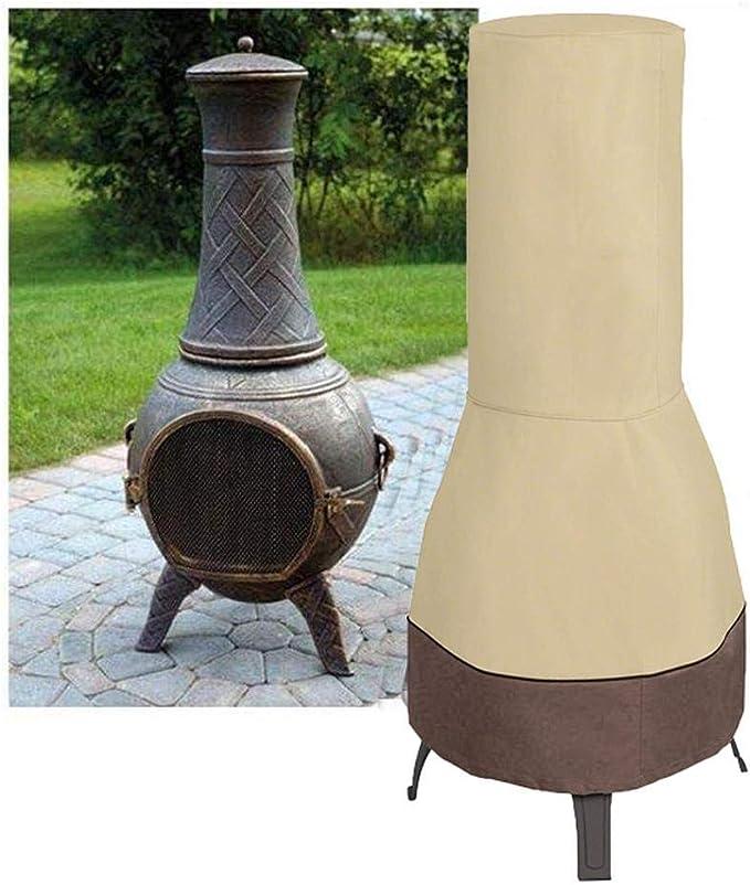 Resistente al Agua Protector de Muebles para Exteriores Tela Oxford Duradera TOPINCN Cubierta para Calentador de Patio Cubierta para Calentador de jard/ín a Prueba de Polvo