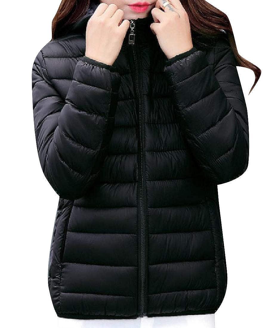 Winwinus Womens Windbreaker Lightweight Fall /& Winter Puffy Jacket