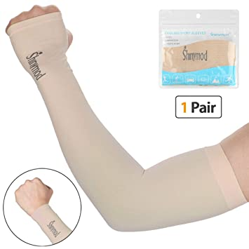 amazon com shinymod uv protection cooling arm sleeves for men