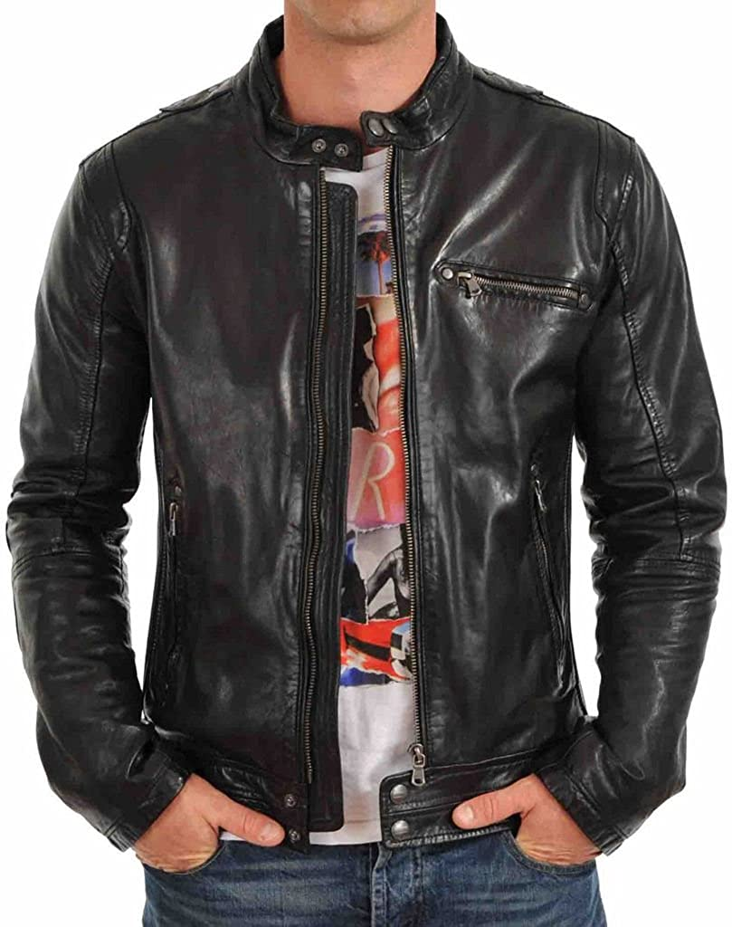 Silversoft Mens Lambskin Leather Jacket