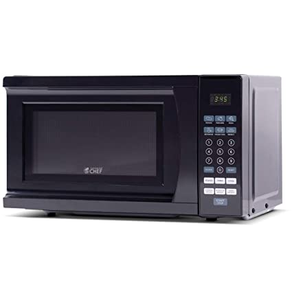 5760c281446b Amazon.com: Commercial Chef CHM770B Countertop Microwave, 0.7 Cu. Ft ...