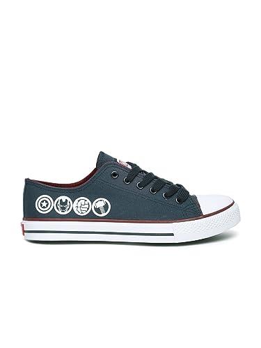 Kook N Keech Marvel Unisex Navy Casual Shoes (7UK)