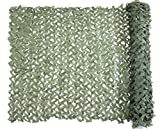 Camo Netting, Camouflage Net Green 5 X 13 FT Nets Lightweight Durable for Sunshade Decoration Hunting Blind Shooting