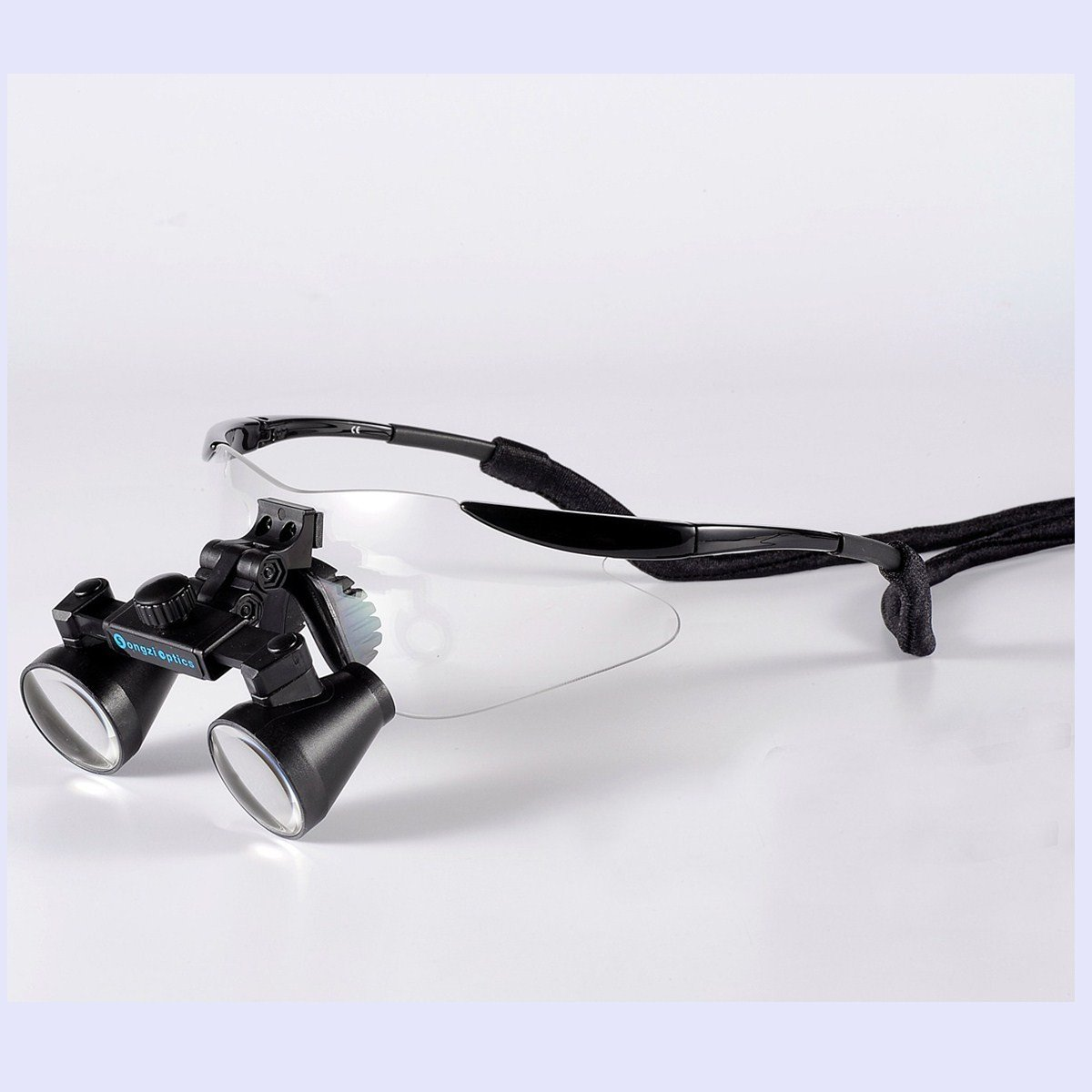 Songzi Optics (2.5X,3X,3.5X Optional) Binocular Dental Loupes Surgical Loupes Black Colour (working distance:(360-460mm)R, Magnification:2.5X)