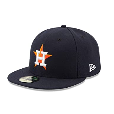 0ebaf63a57924 Amazon.com  New Era 59FIFTY Houston Astros Navy MLB 2017 Authentic  Collection On Field Home Fitted Cap  Clothing