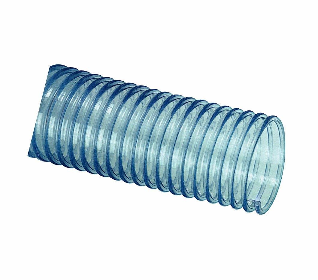 Tigerflex GTF Series Food Grade PVC Ducting/Material Handling Hose, 10 PSI Max Pressure, 3 inches ID, 50 feet Length by Tigerflex (Image #1)