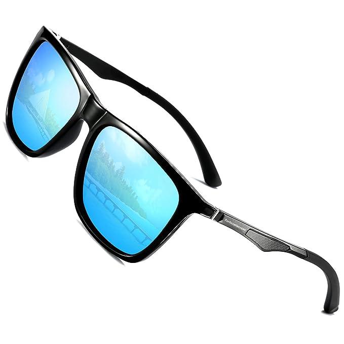 Perfectmiaoxuan Gafas de sol para hombre mujer polarizadas ...