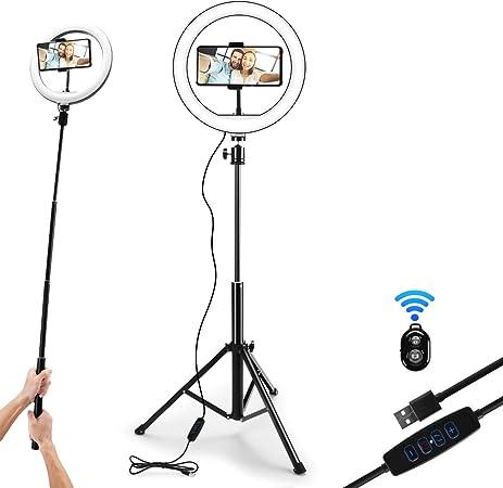 Backture 10 Zoll Selfie Ringlicht Mit Stativ Kamera