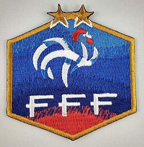 (Embroidery Patch France FC Football Club Soccer Badge Applique 2.5