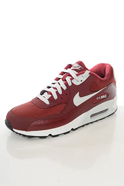 code promo a0f36 4f282 Nike - Basket Homme Air Max 90 Essential Bordeaux-Taille ...