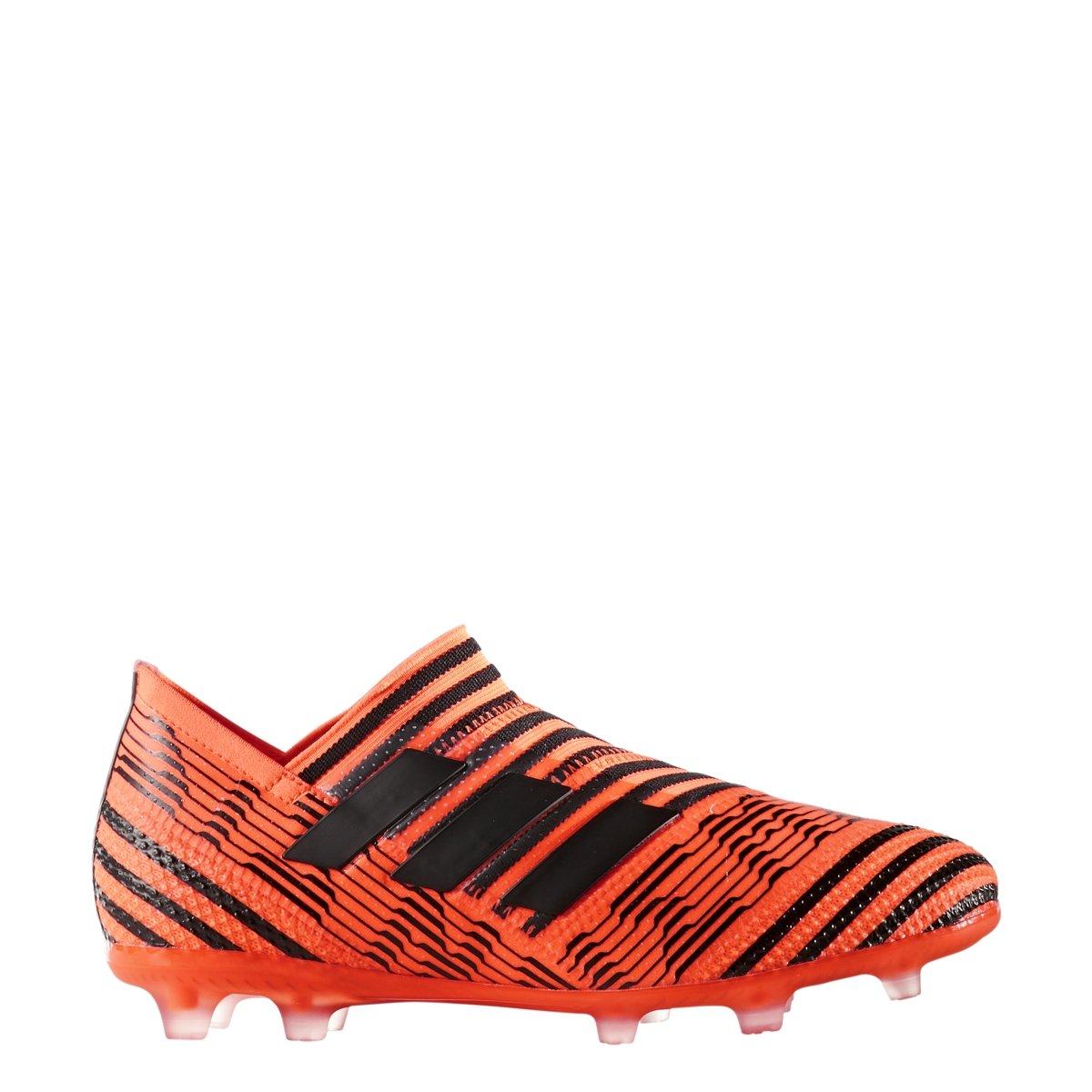 adidas Nemeziz 17+ 360 Agility FG Soccer Cleats - Solar Orange-Core Black-Solar Red - Boys - 5.5