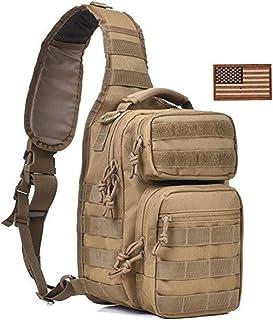 DDPP Ventilateur Armée Sac Tactique Camouflage Épaule Diagonale Sac De Poitrine en Plein Air Mâle Sac D'équitation en Plein Air Sport Poches