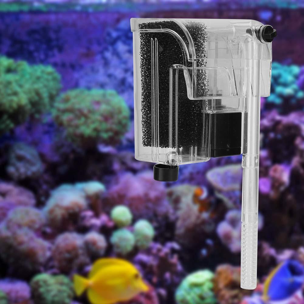 03 yuyte Pompa di Ossigeno sommergibile del Filtro dattaccatura dellacquario del carro Armato di Pesci