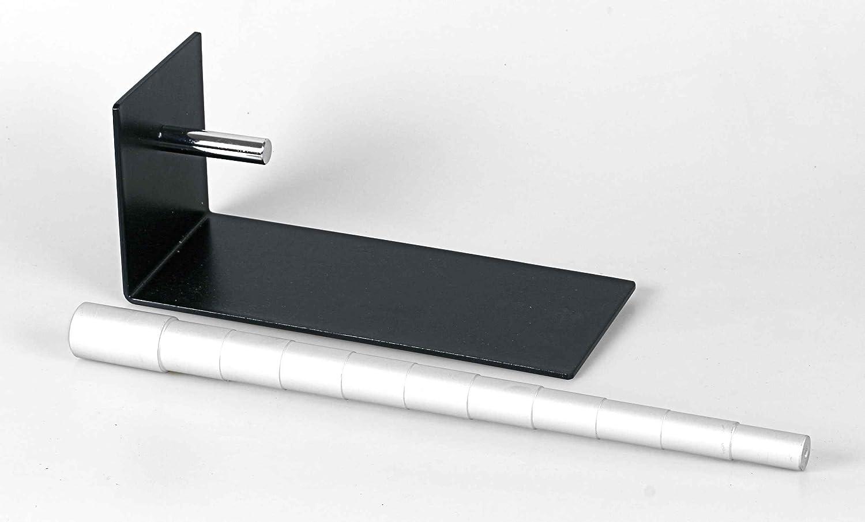 Gestufter Ringstock aus Aluminium mit Halter Moritzen-Schmuckherstellung