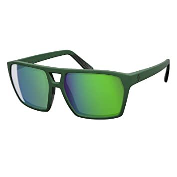 Scott Tune Fahrrad Brille grün/grün chrome MUCAvL