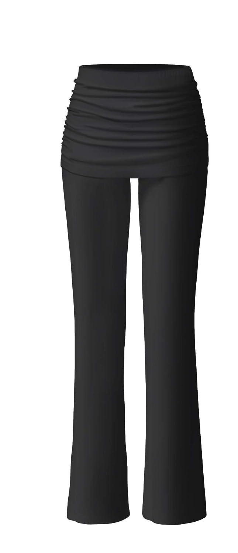 CURARE Damen Yogahose Pants Long with Skirt