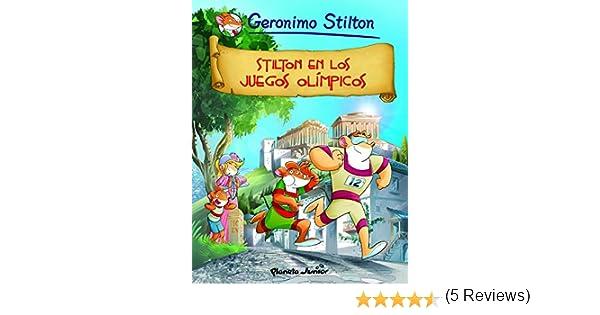 Stilton en los Juegos Olímpicos: Cómic Geronimo Stilton 10: Amazon ...