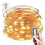Best Solar String Lights - LeMorcy Waterproof String Lights, 8 Modes 33ft 100LED Review