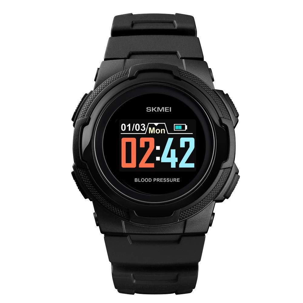 Smart Watch for Men Compatible with Android iPhone Samsung, Heart Rate Blood Pressure Oxygen Sleep Monitor Pedometer GPS, Waterproof Sport Fitness Tracker Smartwatch by LB LIEBIG (Image #1)