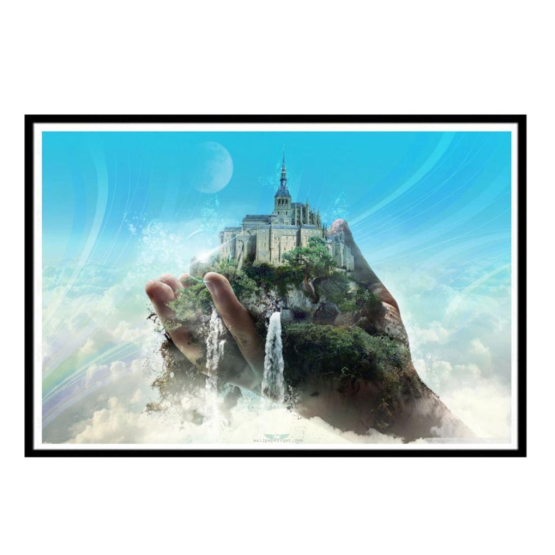 Swyssクリエイティブ5dダイヤモンド絵画キットフルドリルダイヤモンド刺繍モダンホーム飾り40 x 30 cm   B07CCBR94C