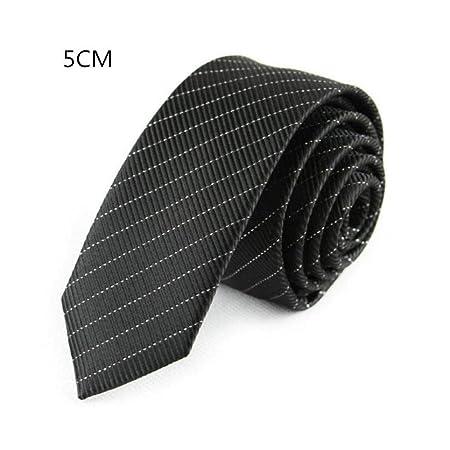 NA Corbata de 5 cm Corbata Ajustada de 59 Pulgadas de Largo para ...
