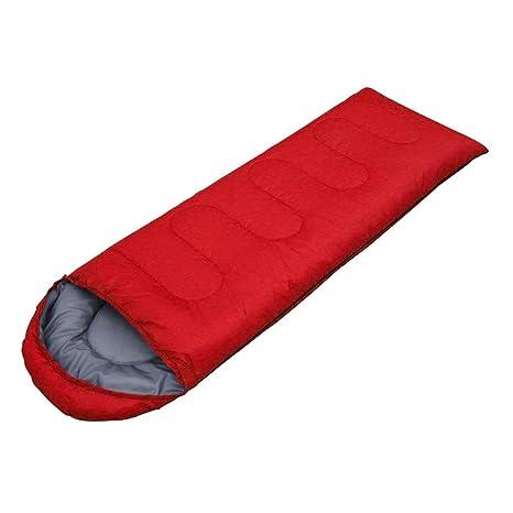 WeAreAwesome Saco de dormir Saco de dormir de festival Camping Festival - rojo