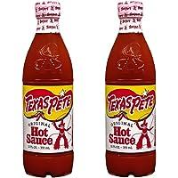 Texas Pete Original Hot Sauce, 12 oz (2 Bottles)